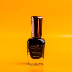esmalte negro polish sin lampara